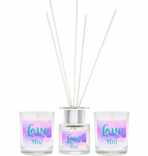 LOVE YOU DIFFUSER&CANDLE SET Gift